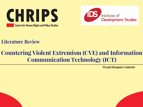 Countering Violent Extremism (CVE) and Information